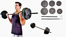 Weight Sets 100lbs Barbell Dumbells Home Gym Fitness Equipment Build Muscle SALE