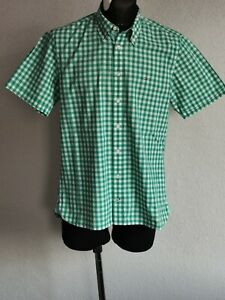 Tommy Hilfiger mens cotton short sleeve check shirt size M