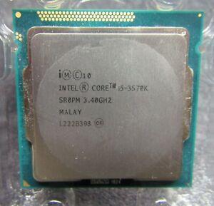 Intel Core i5-3570K Quad Core LGA1155 3rd Gen Unlocked 6MB 3.40GHz Processor CPU