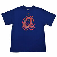New Cooperstown Collection Big & Tall MLB Atlanta Braves Branded T-Shirt In Blue