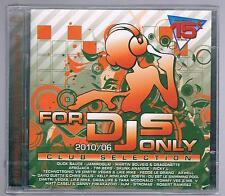 FOR DJS dj's ONLY  2010/06 CLUB SELECTION - 2 CD F.C. SIGILLATO!!!