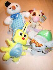 Disney Doc McStuffins Toy Hospital plush animals: Flicker, Hazel, Chilly, Moo Mo