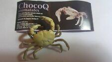 Kaiyodo Animatales Choco Q Series 9 White Albino River Crab SP Figure RARE