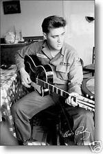 #6880 Elvis Presley Us Army Poster 24X36