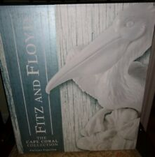 "Fitz & Floyd Tall Pelican Figurine 14"" Tall Cape Coral Collection Nib"