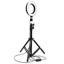 "6"" Dimmable Ring Light Studio Photo Video Lamp Tripod Camera Phone Selfie Live"
