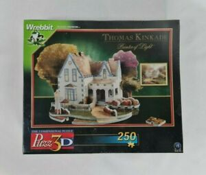 Thomas Kinkade Home Is Where The Heart Is II Puzz 3D Puzzle - New In Dented Box