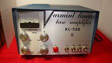 VARMINT LINEAR BASE AMPLIFIER XL-250 10 METER for parts or not working