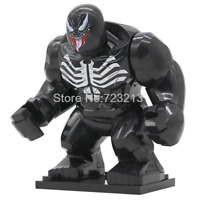 Venom - Rare Custom fit LeGo Big Figures Venom Thanos HULK IRON MAN MARVEL