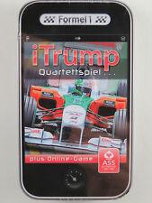 "ASS Altenburger 225 71321 iTrump Quartettspiel ""Formel 1"" plus Online-Game NEU"