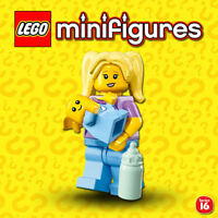 Lego Series 16 Minifigure 71013-Babysitter With Baby Brand New /& Free Postage