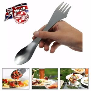 3 in 1 Spork (Knife Fork Spoon) Perfect for Camping Cutlery