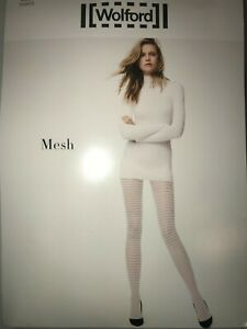 Wolford Mesh Net Tights Color Anthracite (Grey) Size: Extra Small 19198 - 06