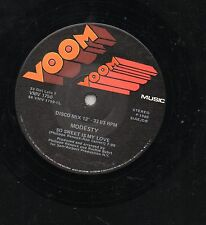 """MODESTY disco MIX 12"""" 45 giri  MADE in ITALY So sweet is my love 1980 DANCE"""