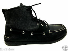 Sperry Top-Sider 0532473 Ankle Boot Men's A/O Sports Black Grey Size 11 USA.