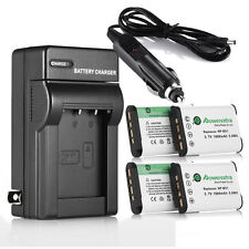 4X Battery + Charger for Sony CyberShot DSC RX100 II III HX50V WX300 / 4 NP-BX1