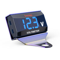 Digitale Voltmetro Batteria Valutare Amperometro 12V-150V LED Per Moto Auto