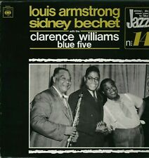 Louis Armstrong & Sidney Bechet Clarence Williams Blue Vinyl  LP L3.72