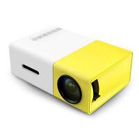 HD 1080P Mini Projector LED Home MulitMedia Theater Cinema USB TV VGA SD HDMI