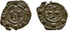 1258-1266 SICILY Italy Crusaders MANFRED MESSINA DENARO CROSS #2