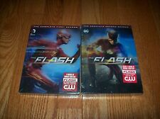 Brand New Sealed. The Flash The Complete Series so far on DVD. Seasons 1 & 2
