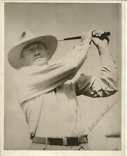 Wild Bill Mehlhorn Signed 8 x 10 Photo JSA Authenticated -  LOA