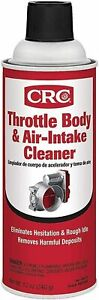 CRC 05078, Throttle Body and Air-Intake Cleaner, 12 Ounce Can