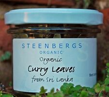 Curry Leaves - Dried Organic Herb - Glass Jar - Steenbergs