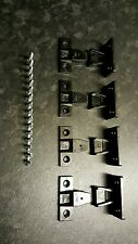 KEKU PUSH ON CLIPS x2 pairs (4 pieces in total) free 17mm screws, quality item!