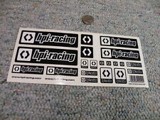 Stickers R/C radio Controlled Team HPI Racing black B12