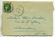 LETTRE SEUL SUR LETTRE N° 488 CHIRAC / MARAUSSON 1941 A LA VALEUR