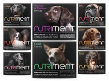 Nutriment Raw Dog Food 9kg Dog Starter Mixer assortment Box frozen diet Food