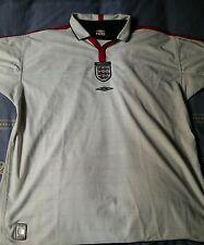 camisetas jersey shirt maillot maglia trikot UMBRO ENGLAND INGLATERRA XL