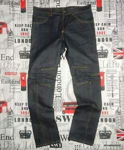 "mens IT52 (UK 36"") Alexander McQueen Jeans Darted Seams SUPERB"