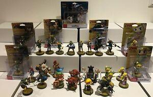 Amiibo Zelda Breath of the wild Series Link Zelda daruk mipha urbosa Jan 12th