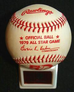 1979 RAWLINGS ORIGINAL UNUSED ALL-STAR GAME @ SEATTLE BASEBALL & DISPLAY STAND 4