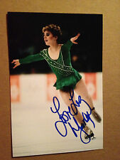 Elizabeth Liz Manley SIGNED 4x6 photo TEAM CANADA  / FIGURE SKATING OLYMPICS #4