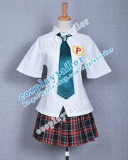 Panty & Stocking with Garterbelt Cosplay Anarchy Panty School Uniform Well Made