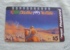 CHRISTMAS 1993  $5  AUSTRALIAN PHONECARD