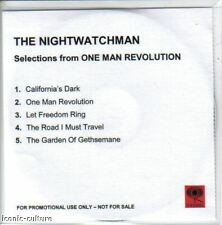Nightwatchman (Rage) One Man Revolution -Rare sample CD