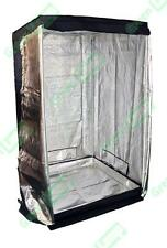 Premium 1.2m x 1.2m x 2m 600D Silver Mylar Grow Tent Box Hydroponics Dark Room