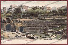 FIRENZE FIESOLE 34 TEATRO ROMANO Cartolina viaggiata (1906 ?)
