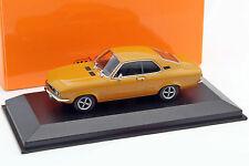 Opel Manta A Baujahr 1970 ocker 1:43 Minichamps