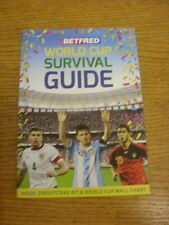 2014 World Cup: Brazil 2014 - Betfred World Cup Survivasl Guide. Thank you for v