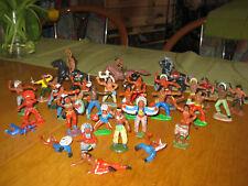 DDR- Indianer und Cowboys-  37 Teile, Spielzeug aus Kindertagen