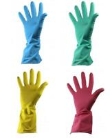5 10 20 Pairs Shield Household Latex Rubber Gloves Kitchen Bathroom Washing up