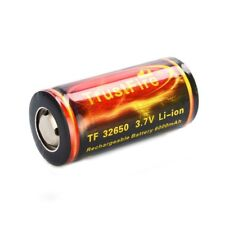 P6I1 TrustFire 32650 6000mAh 3.7V Lithium Battery with PCB protected board