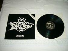DEFCON --- rare original 1990 SUICIDE LP!! East-german Progressive speed metal