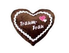 Traumfrau Lebkuchenherz Kissen Geburtstagsgeschenk Frauen Weihnachtsgeschenk NEU