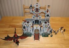 LEGO Castle Kings Siege Set 7094 100% Complete With Instructions